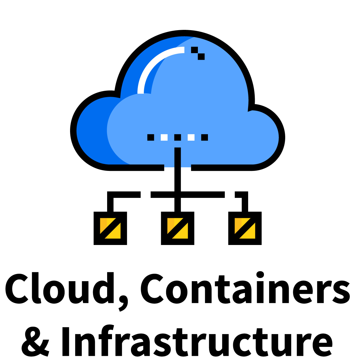Cloud Containers and Infrastructure Track icon