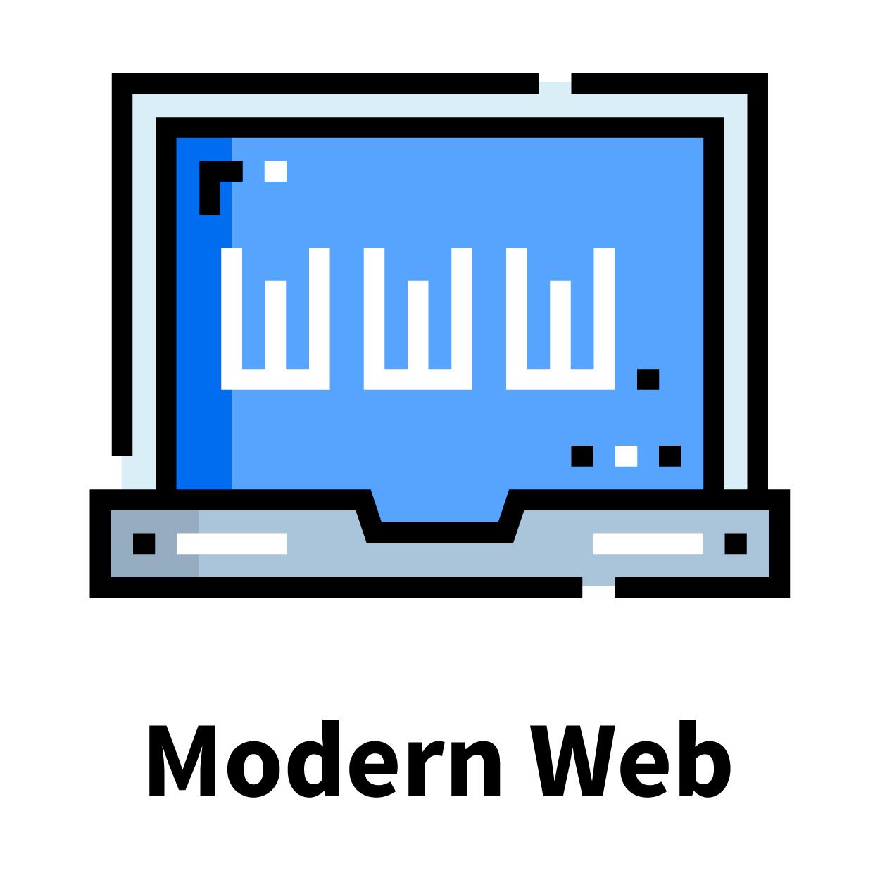 Modern Web Track icon